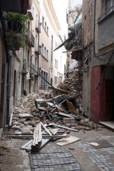 El temporal de lluvia deja 17 heridos en Cataluña