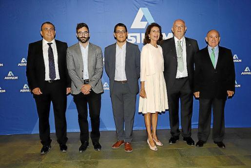 Jaume Fornes, Joan Groizard, Iago Negueruela, Carmen Planas, Carlos Moyà y Francisco Martorell.