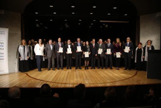 Imagen de la gala de entrega de premios del Fomento del Turismo celebrada el año pasado.