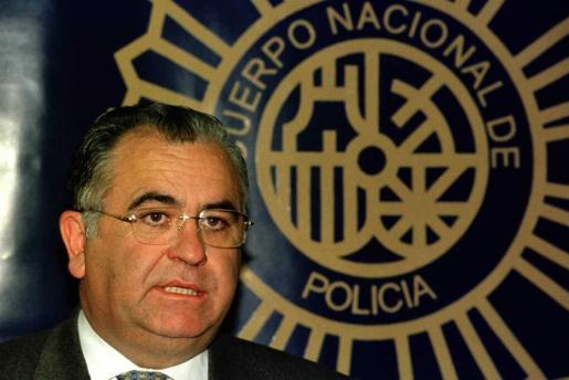 El entonces director general de la Policia, Juan Cotino, en una imagen de archivo.