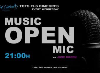 Open Mic en el Novo Café Lisboa