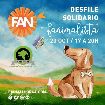 Fan Mallorca Shopping acoge este desfile de perros que buscan adopción.