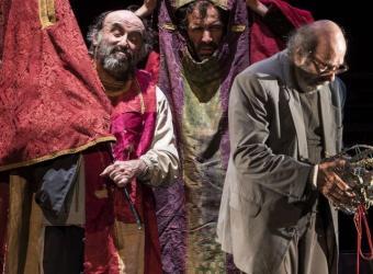 La Zaranda repasa su 40 años de trayectoria en el Teatre Principal con 'Ahora todo es noche'