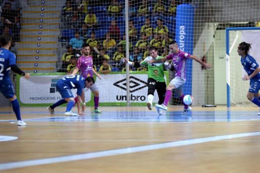 El Palma Futsal consiguió cuatro tantos en el encuentro en Son Moix.