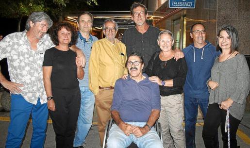 Toni Mus, Esther Melero, Toni Mestre, Pere Pons, Víctor Uris, Sebastián López, Eva Florit, Pere Homar y Carmen Conde.