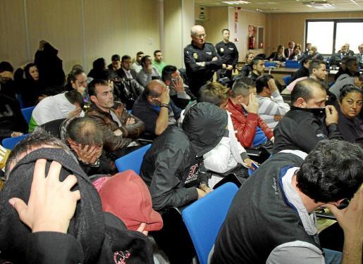 El juicio se celebró a principios de 2013 con 55 acusados por tráfico de drogas.
