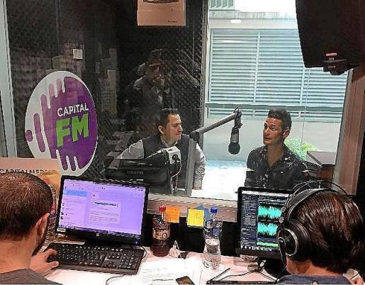Bruno Sotos, en la emisora Cadena Radio Capital.