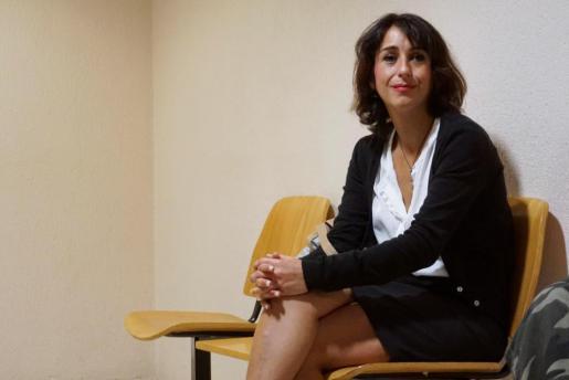 La española Juana Rivas, a la espera en un tribunal italiano por la custodia de sus hijos.
