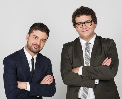 Facu Díaz y Miguel Maldonado analizan a su manera la actualidad política en Trui Teatre.
