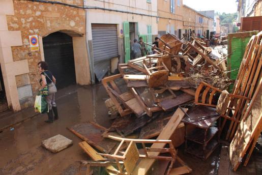 La declaración de urgencia pretende agilizar la tramitación de las obras para reparar los daños causados por las inundaciones en Sant Llorenç.