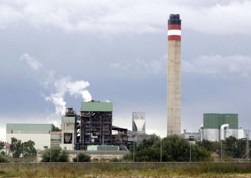 Vista de la central térmica de Murterar.