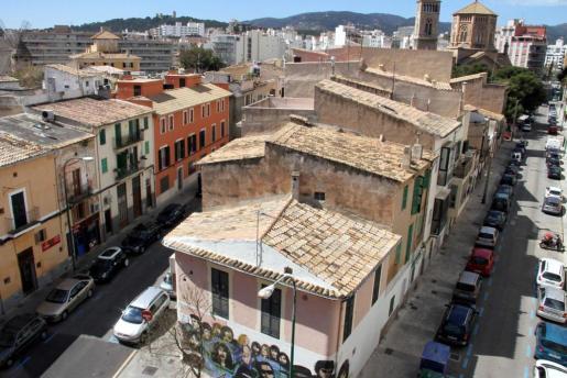 Vista del barrio de Santa Catalina de Palma.