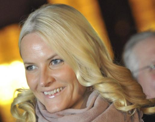 La princesa Mette-Marit de Noruega.