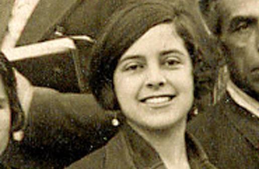 Aurora Picornell, en una foto tomada en es Molinar, muy cerca de donde tendrá el busto.
