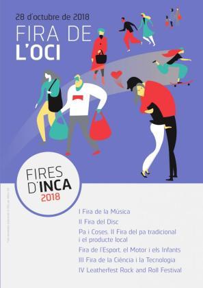 El domingo 28 de octubre se celebra la Fira de l'Oci en Inca.