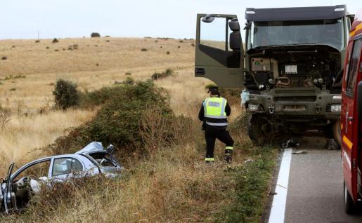 La pequeña no ha podido superar las heridas provocadas por el impacto frontal sucedido en una carretera local de Salamanca, en las proximidades de la capital salmantina.