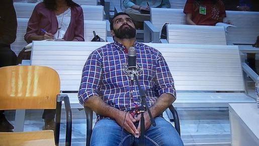 Mohamed Harrak, condenado por vender droga en Palma.