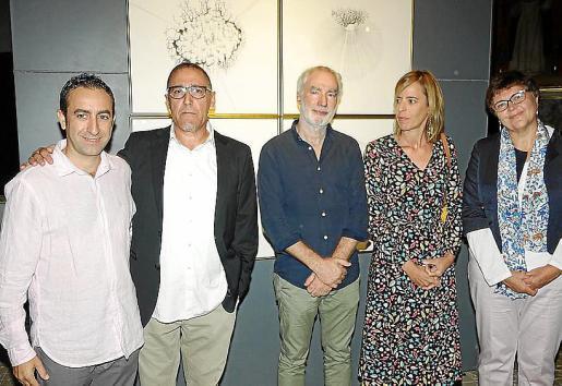 Miquel Àngel Sureda, Andreu Aguiló, Miquel Àngel March, Olimpia Velasco y Aina Aguiló.