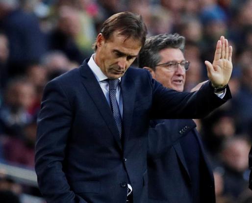 El técnico vasco expresa sus mejores deseos al club merengue para lo que queda de temporada.