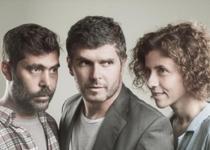 Ernest Villegas, Òscar Muñoz y Anna Sahun protagonizan 'Mala broma'.