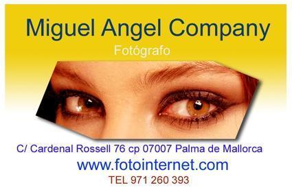 Estudio de fotografía de Miguel Àngel Company.