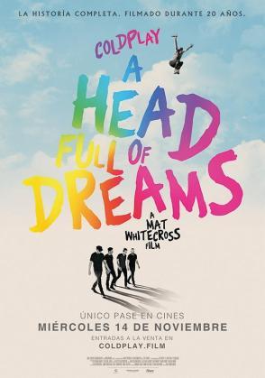 Mat Whitecross dirige el documental 'Coldplay: a head full of dreams'.