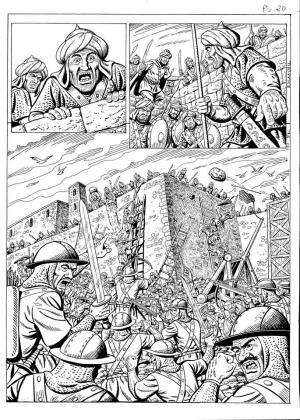 El cómic 'Història d'Eivissa i Formentera', de Lluís Ferrer Ferrer y Juan Escandell, da pasos para ser una realidad.