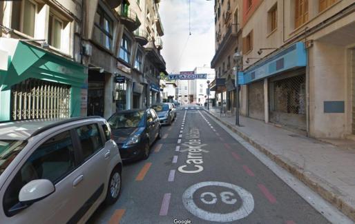 Imagen de la calle Velázquez en Palma.