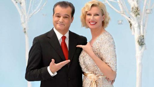 TVE recibió 2018 con Anne Igartiburu y Ramón García.