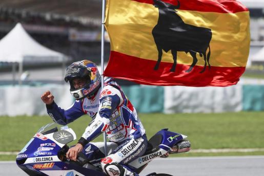 El español Jorge Martín se ha proclamado este domingo campeón del mundo de Moto3.