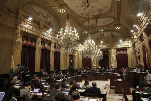 Este martes se celebra un nuevo pleno del Parlament.