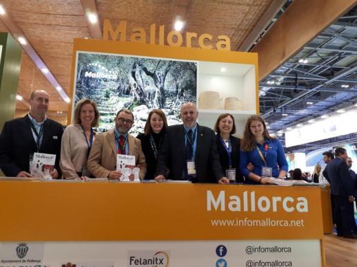 Stand de Mallorca en la World Travel Market de Londres.