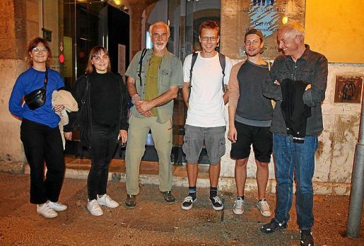 Jolanda Obleser, Sofie Nicklas, Wolko, Stefan Hahn, Johannes Jacobshagen y Hendrik Dorgathen.