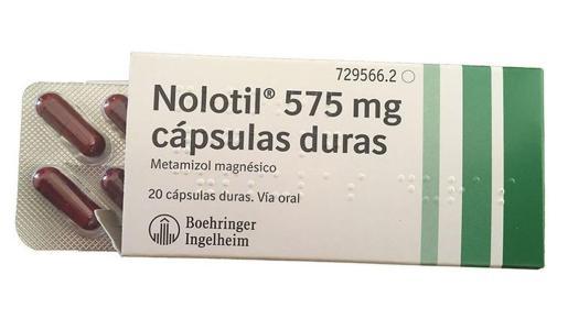 Imagen de una caja de Nolotil.