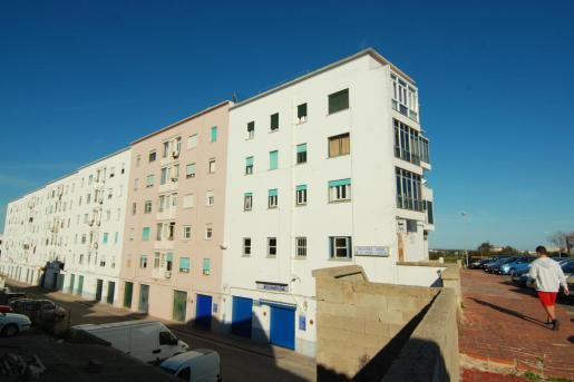 Imagen de una promoción urbanística en Menorca.