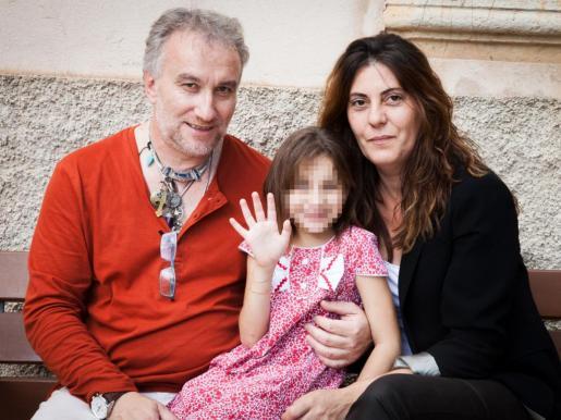 Fernando Blanco y Margarita Garau, padres de Nadia.
