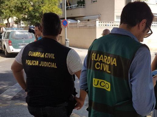 El Equipo contra el Crimen Organizado (ECO) y la Policía Judicial de la Guardia Civil de Algaida han llevado a cabo la operación antidroga.