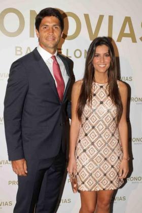 Ana Boyer y Fernando Verdasco, en una imagen de archivo.
