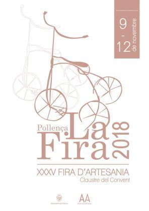 La XXXV Fira d'Artesania se celebra en Pollença.