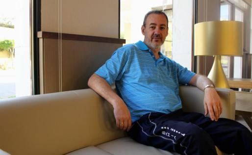 Guillem Boscana, en una imagen captada durante una reciente entrevista.