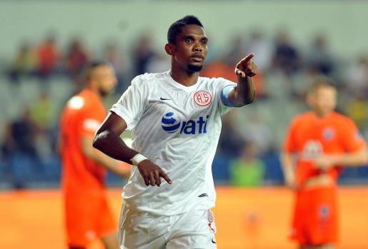 Imagen reciente del futbolista camerunés Samuel Eto'o