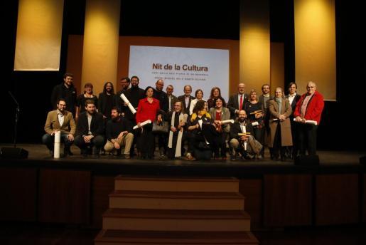 Imagen de la gala de entrega de los Premis 31 de Desembre del año pasado.