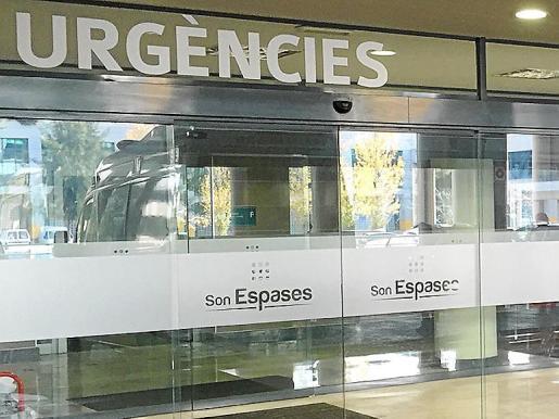Entrada a la unidad de Urgencias del hospital de Son Espases.