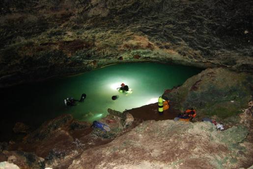 La cueva de sa Gleda, la gruta sumergida mayor de Europa.