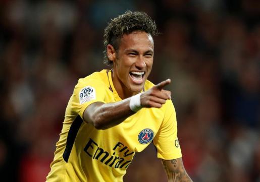 Imagen del futbolista Neymar.