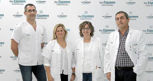 Juan Carlos Berdeal, María Hernández-Coronado, Mercedes Rodríguez y Joan Palmer.