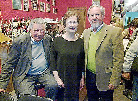 Bernardino Pons Isern, Bárbara Darder y Antonio Maymó Malondra.