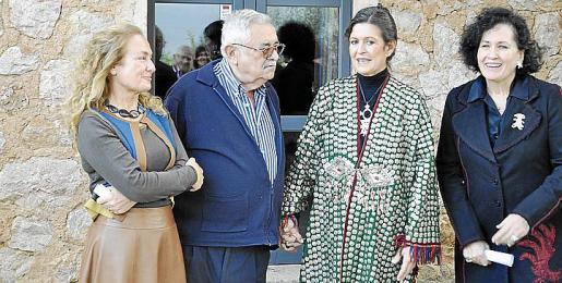 Francesca Martí, Pere A. Serra, Cristina Macaya y Pilar Ribal.