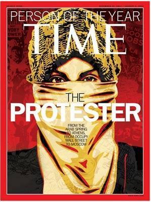 La revista Time ha elegido al 'manifestante' como la persona del año.