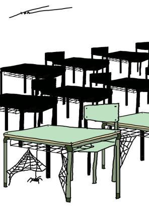 Un 11,7 por ciento del alumnado manifiesta que ha faltado en el centro sin causa justificada durante el curso «a veces».